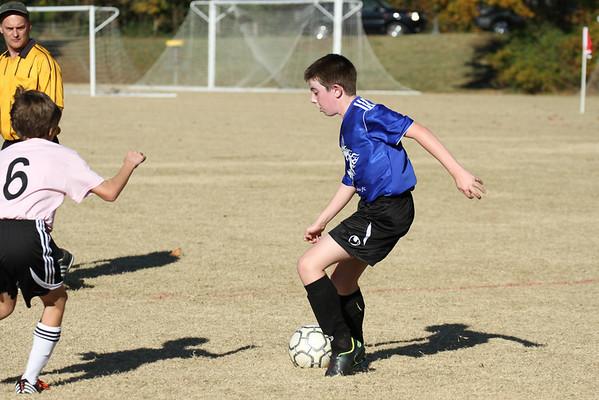 U12 Boys vs Ambush White 11-10-2012