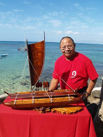 2009 Domie Gose Koa Canoes & Paddles