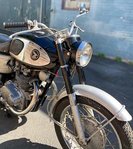 Honda CB450 (TS) on IMA