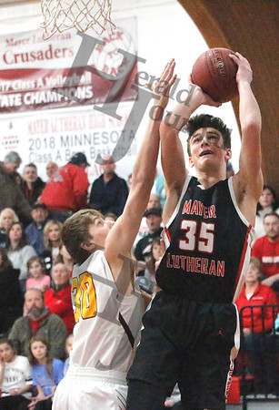 SECTION 2A BOYS BASKETBALL: LP/HT at Mayer Lutheran