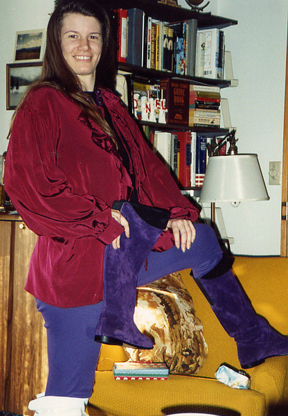 1990 Susan new boots