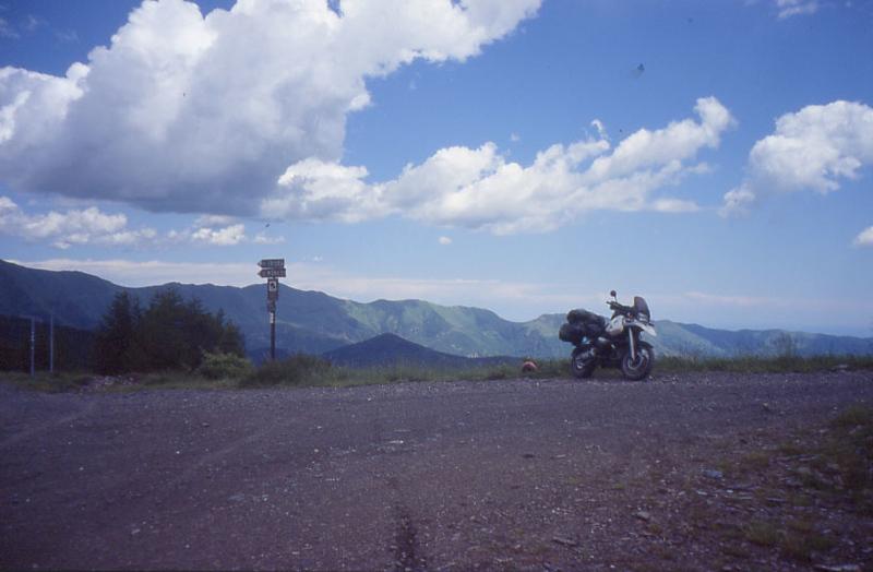 Baisse di Sanson 2001, mijn eerste passage
