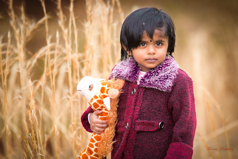 Me and my Giraffe toy