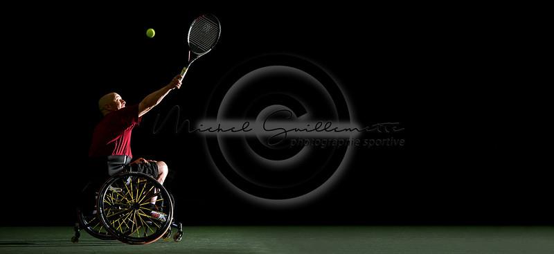 Tennis en fauteuil roulant |  Projet: Excellence Sportive Mauricie  -  ESM
