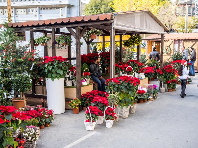 Christmas market in Nicosia
