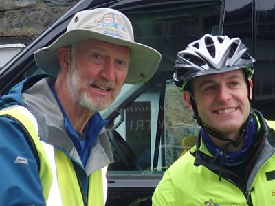 Matt Baker, Rickshaws and the steepest road!