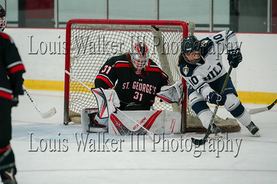 Hockey Belmont Hill at St. George's on 12/15/18
