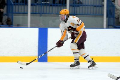 HS Sports - Riverview vs. Grosse Ile Hockey 20