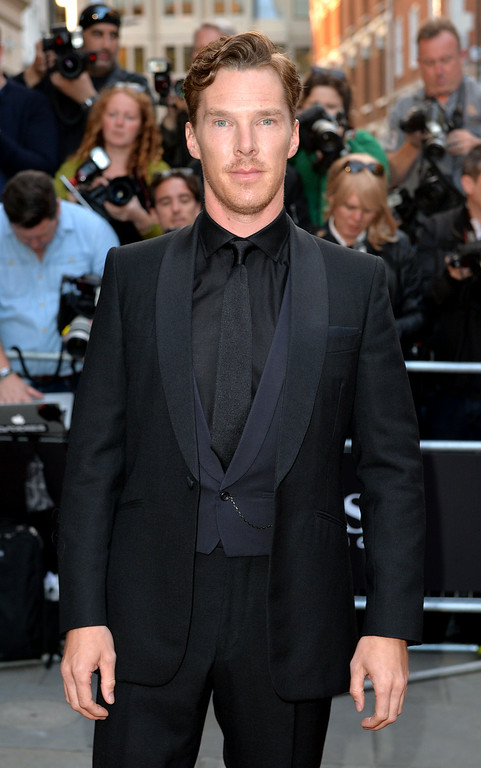 . Benedict Cumberbatch attends the GQ Men of the Year awards at The Royal Opera House on September 2, 2014 in London, England.  (Photo by Anthony Harvey/Getty Images)