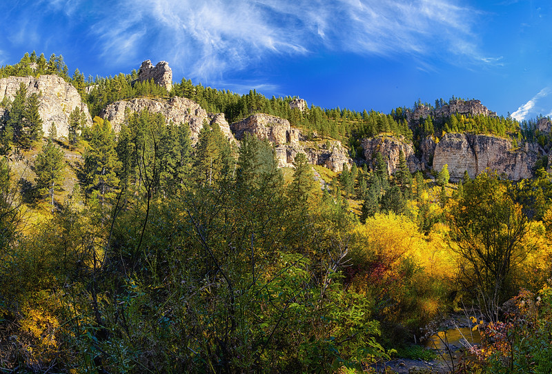 Spearfish Canyon panorama
