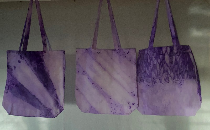 Canvas Bags, Tie Dye