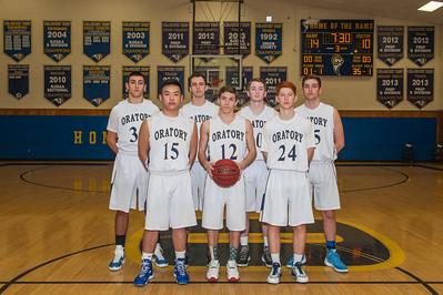 2015-16 Oratory Prep Basketball