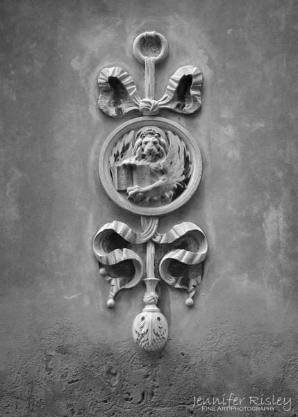 Lion Architectural Detail