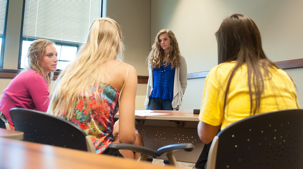Otter Creek students teaching