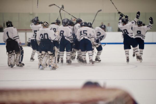 2/20/2009 - Nobles Boys Varsity Hockey vs Belmont Hill