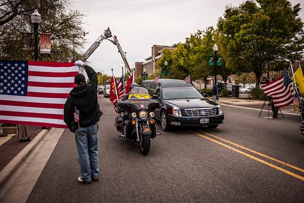 Bringing Home U.S. Marine Cpl. Alex Martinez - April 13, 2012