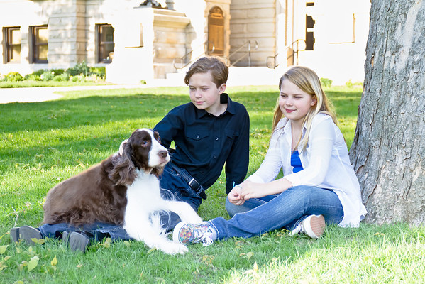 Jodie & family