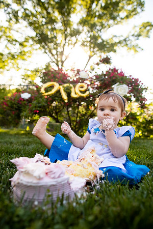 Nancy's 1st Birthday & Cake Smash!