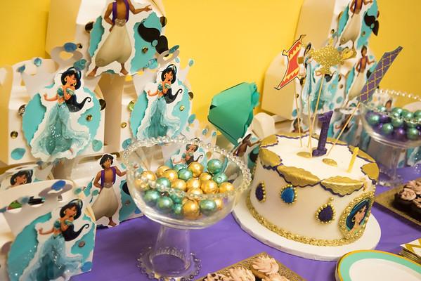 Princess Jasmine's First Birthday