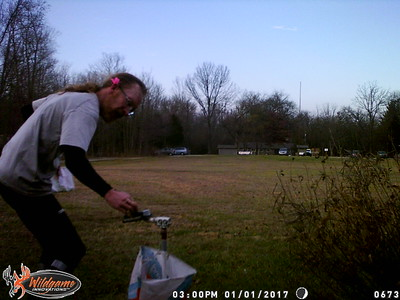 New Year's Orienteering - January 1, 2017