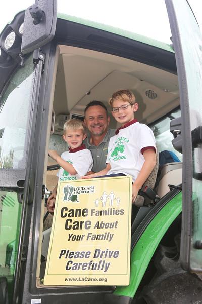 SCF Ride a Tractor to School