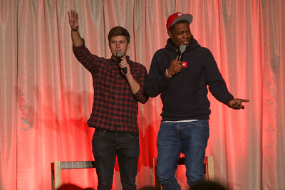 2017 OUAB Presents Weekday Update with Colin Jost and Michael Che