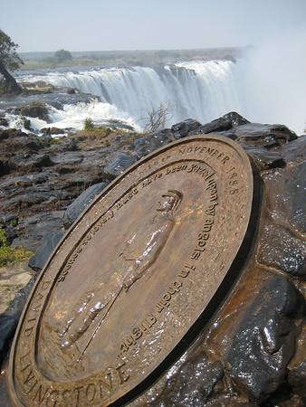 Victoria Falls - Livingstone Island