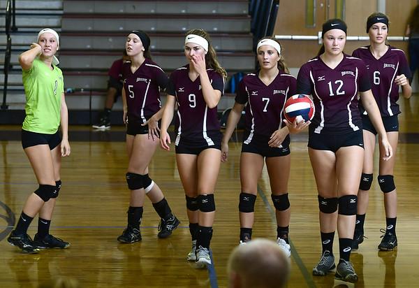 Bristol Central girls volleyball 9-13-18