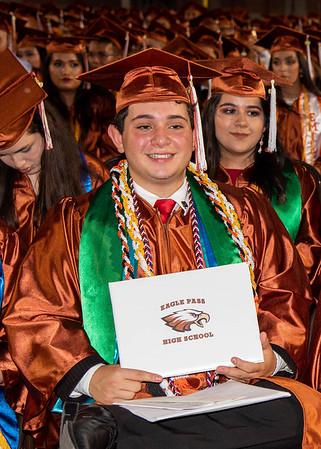 June 8, 2019, Eagle Pass H.S. Graduation