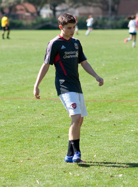 2012-01-14 Varsity Soccer Boys All Saints @ St. John's