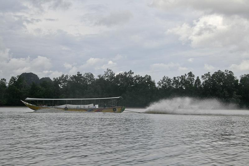 Long tail boat - near Phang Nga Bay