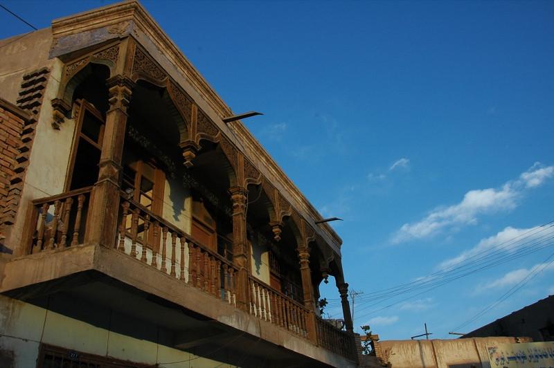 Uighur Balcony - Kashgar, China