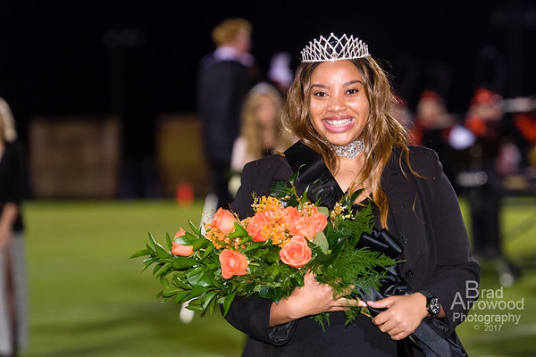 NDHS Homecoming Court - Beyonce Wooten Queen 2017