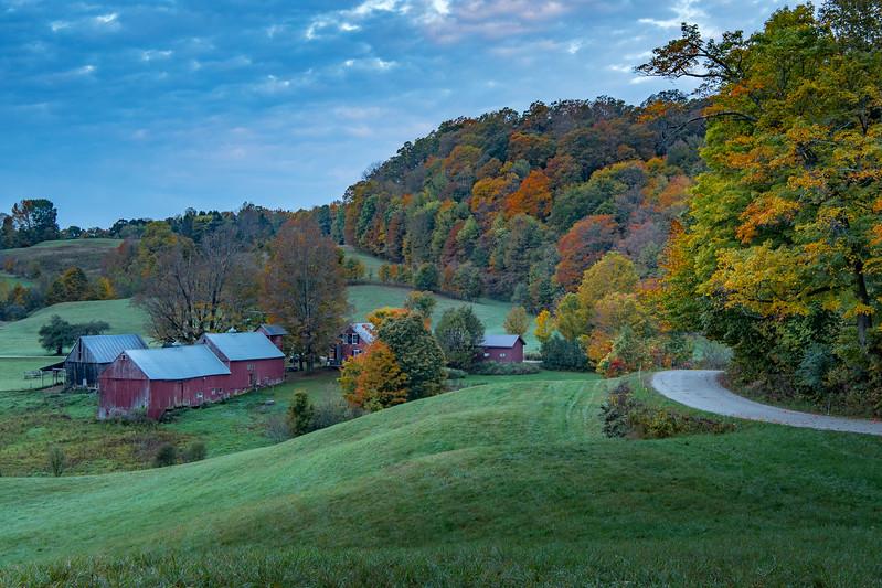 Jenne Farm sunrise