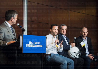 PSBJ Contributing Photographer  Photo from the 2017 Puget Sound Business Journal Innovation Awards Luncheon held February 16 at the W Seattle.   Photos are copyright protected. To purchase usage rights, visit https://psbj.smugmug.com/2017-Innovation-Awards/.