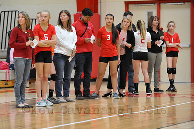 Homestead Volleyball Parent Night  27SEP16