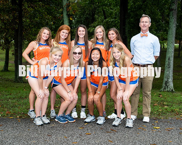 2018 Marshall County Girls Cross Country