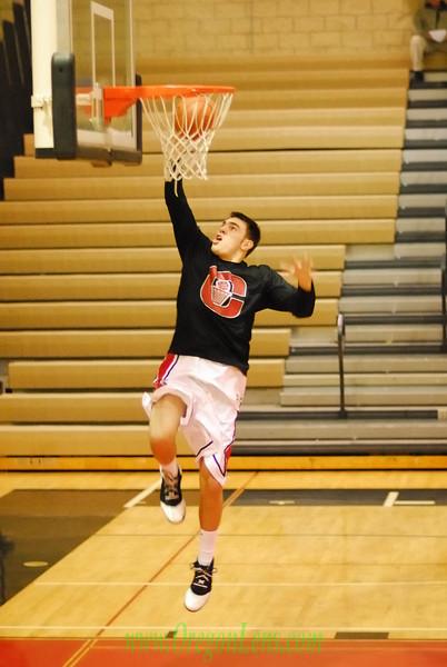 Clackamas Varsity Basketball vs. West Linn 1/25/08