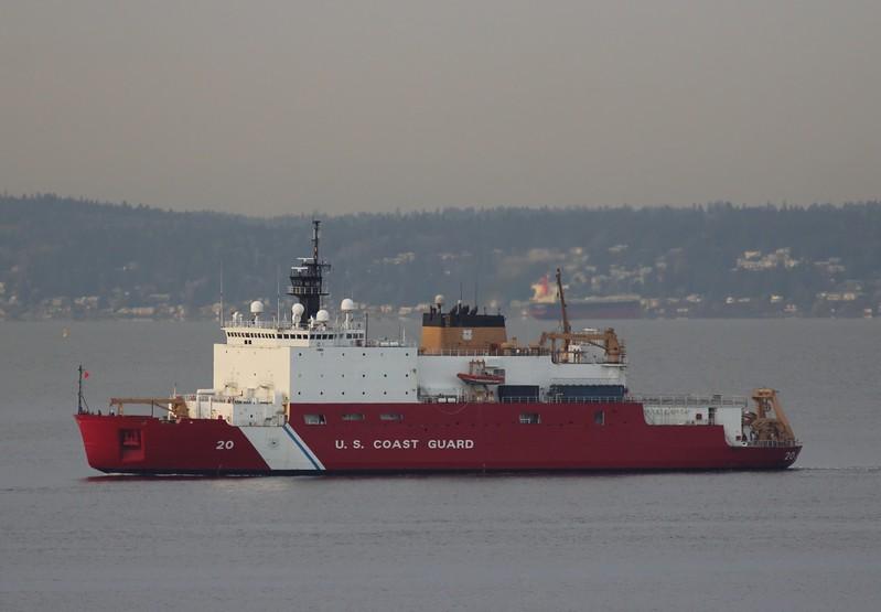 USCG MV Healy - January 2017