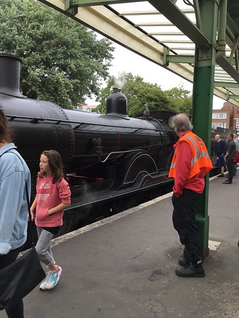ENGLAND - SWANAGE STEAM RAILWAY
