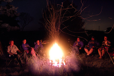 Dan's Bonfire (May 2008)