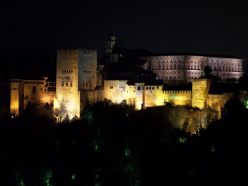 Granada. Alhambra desde el Mirador de San Nicolás