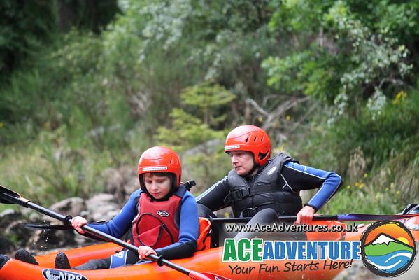 6th of August 2013 Canoe/Kayak Linda & Kyle