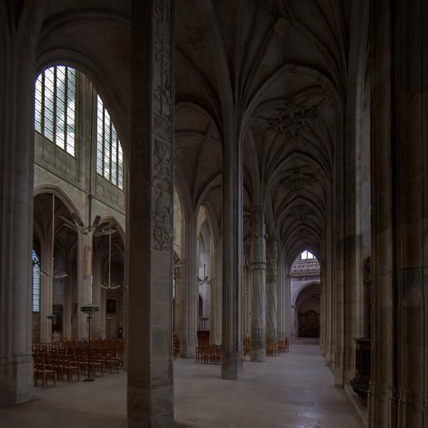 Gisors, Saint-Gervais-Saint-Protais Church Aisle and Vaults