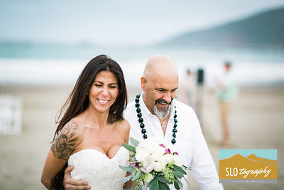 Kamana+Bill ~ Married! Avila Beach Wedding