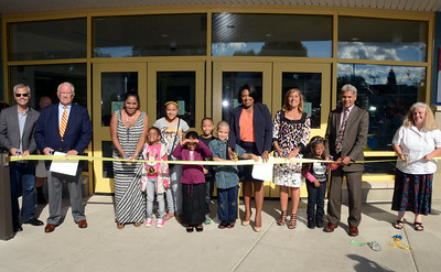 Mayor Warren attended the gala re-opening of School #28. 8/28/2014