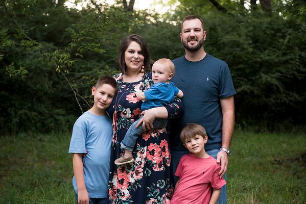 Jase Huskey & Family