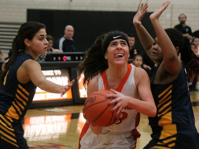 HS Sports - Fordson at Dearborn High Girls Basketball 19