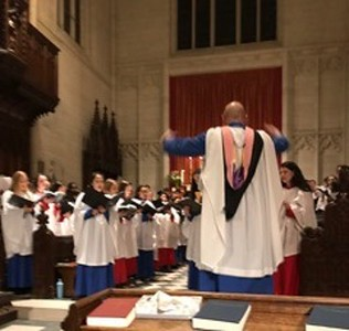 Choral Evensong with Groton, St. Paul's at Groton 1.21.18