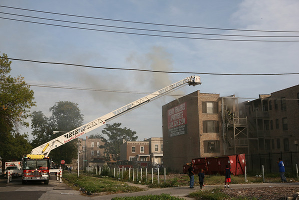 Working Fire 5600 S. Wabash Avenue, September 29, 2007